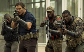 What's bringing the Amazon sci-fi movie 'The Tomorrow War' down? Could it be its own star, Chris Pratt? See if