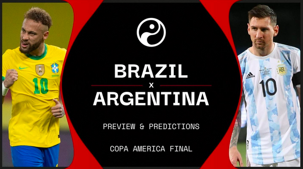 Want to watch the 2021 Copa America rivalry match between Argentina and Brazil? Take a look at the best places for you to stream the big game.