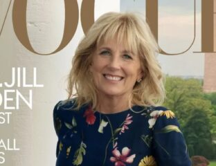 Jill Biden graced the cover of Vogue in a tell-all interview about education and more. Peek at the glamorous cover here.