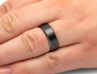 Ceramic wedding bands are a great alternative compared to other metallic or alloyed varieties. Check out our guide to ceramic wedding bands.