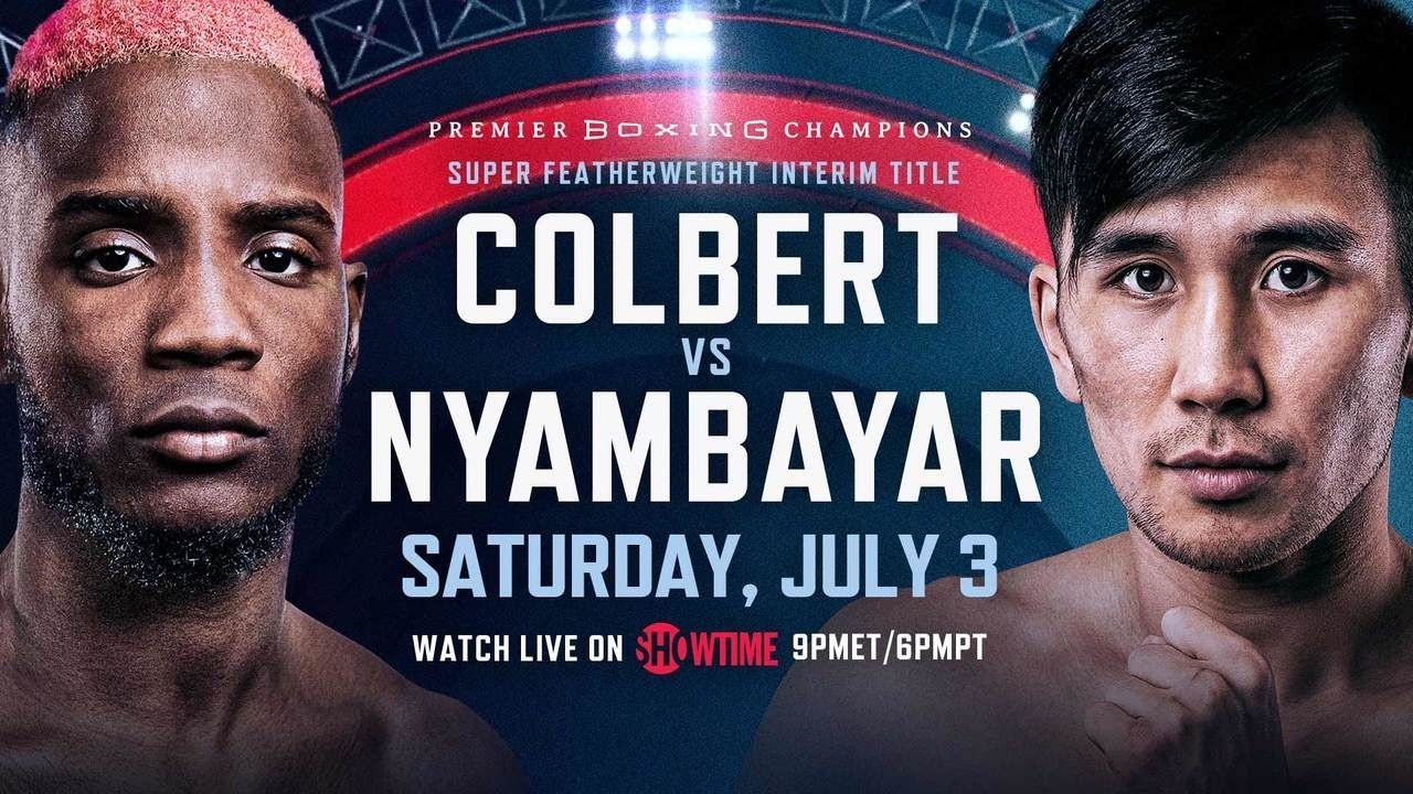 Fans in the US can also stream the boxing online. Colbert vs Nyambayar is also available on Showtime for free.