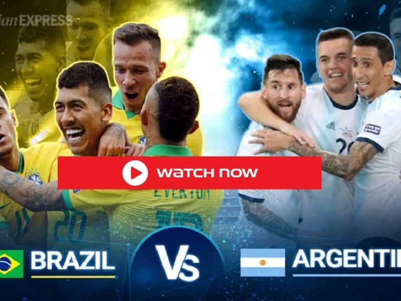 Watch Brazil vs Argentina in the Copa America 2021 Final free on Saturday night live stream.