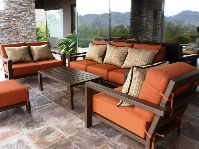 Patio furniture can be tricky to keep clean. Here are some cleaning tips on how to keep the cushions looking spotless.
