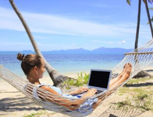 Digital nomads are traveling all over the world. See if you're fave vacation spots are safe from them.