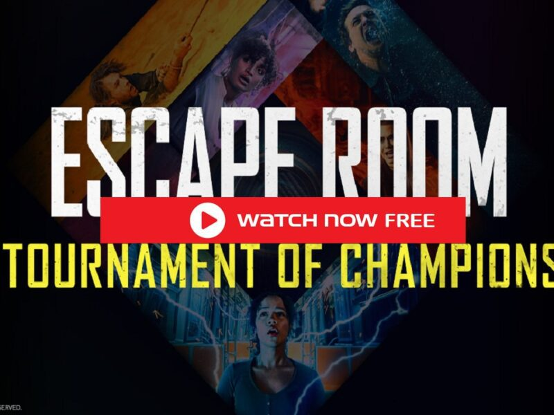 Escape Room: The tournament of Champions free streaming will be available to watch full movies123 exclusively in theatres when it releases on July 16th.