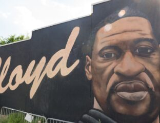 A George Floyd memorial art piece in Toledo, Ohio was destroyed after a lightning bolt blasted the mural. Let's take a look at all the details here.