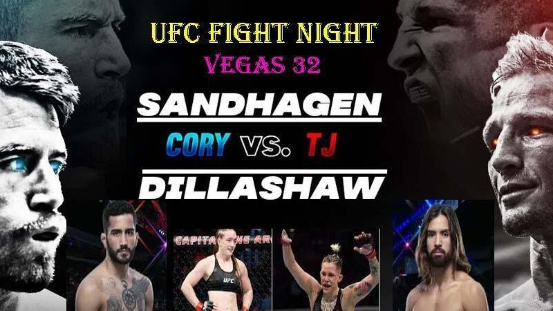 Sandhagen is gearing up to face Dillashaw in the UFC ring. Find out how to live stream the fight online for free.