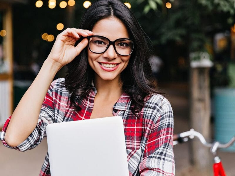 Need some new prescription glasses, but don't want to leave the house? Buy the perfect pair online right now and have them shipped to you!