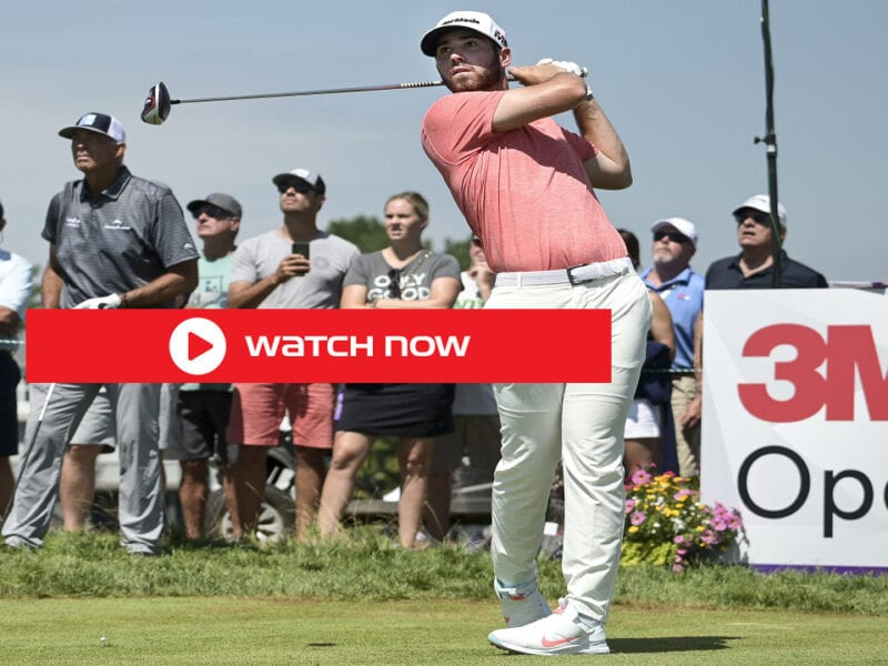 2021 3M Open begins Thursday, July 23, Here's everything you need to know to watch the golf first round live free stream.