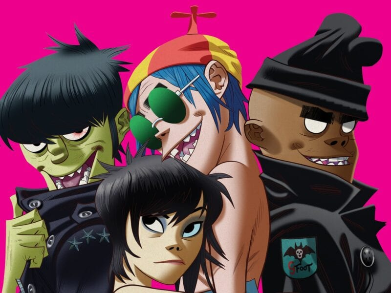 """Virtual band Gorillaz turns 20. Dive in to see how the real life creators are celebrating this milestone in a way that's sure to make you """"Feel Good Inc""""."""