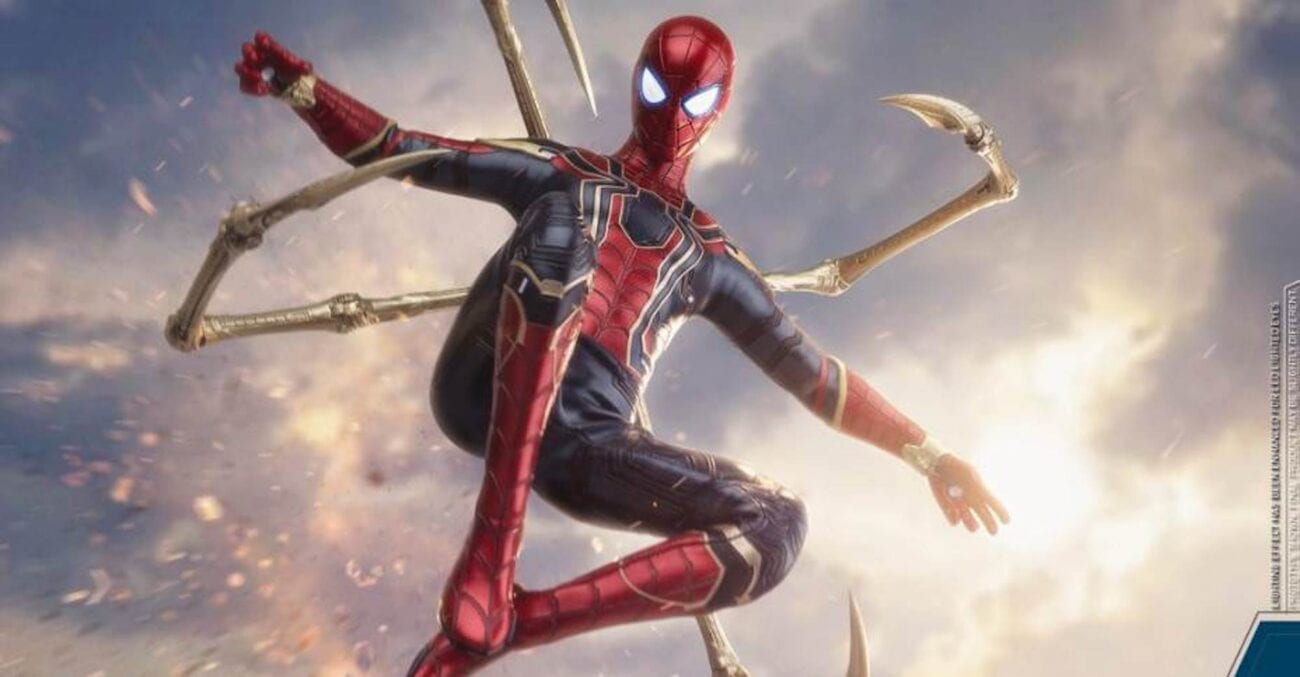 Is Tom Holland going from Spider-Man to Iron Spider in 'Spider-Man: No Way Home'? Look at these leaked images as Twitter reacts.