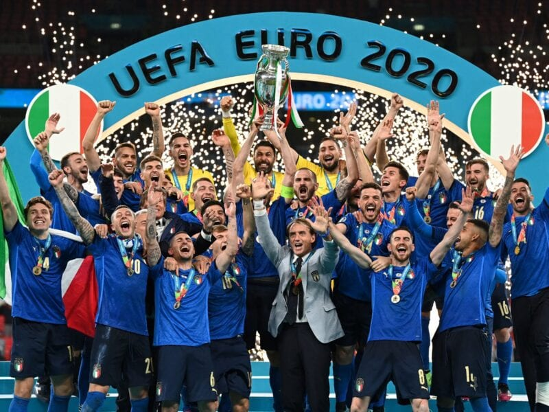 GOAL! Italy celebrates its long-awaited victory after a shootout against England. But how much did penalties affect this soccer match?