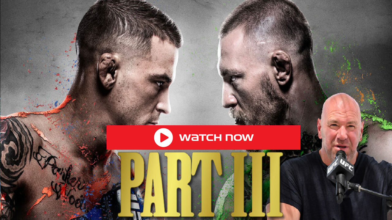 UFC 264: McGregor vs Poirier 3 Live Reddit Streams: The trilogy is set to run it back for a third time tonight at UFC 264.