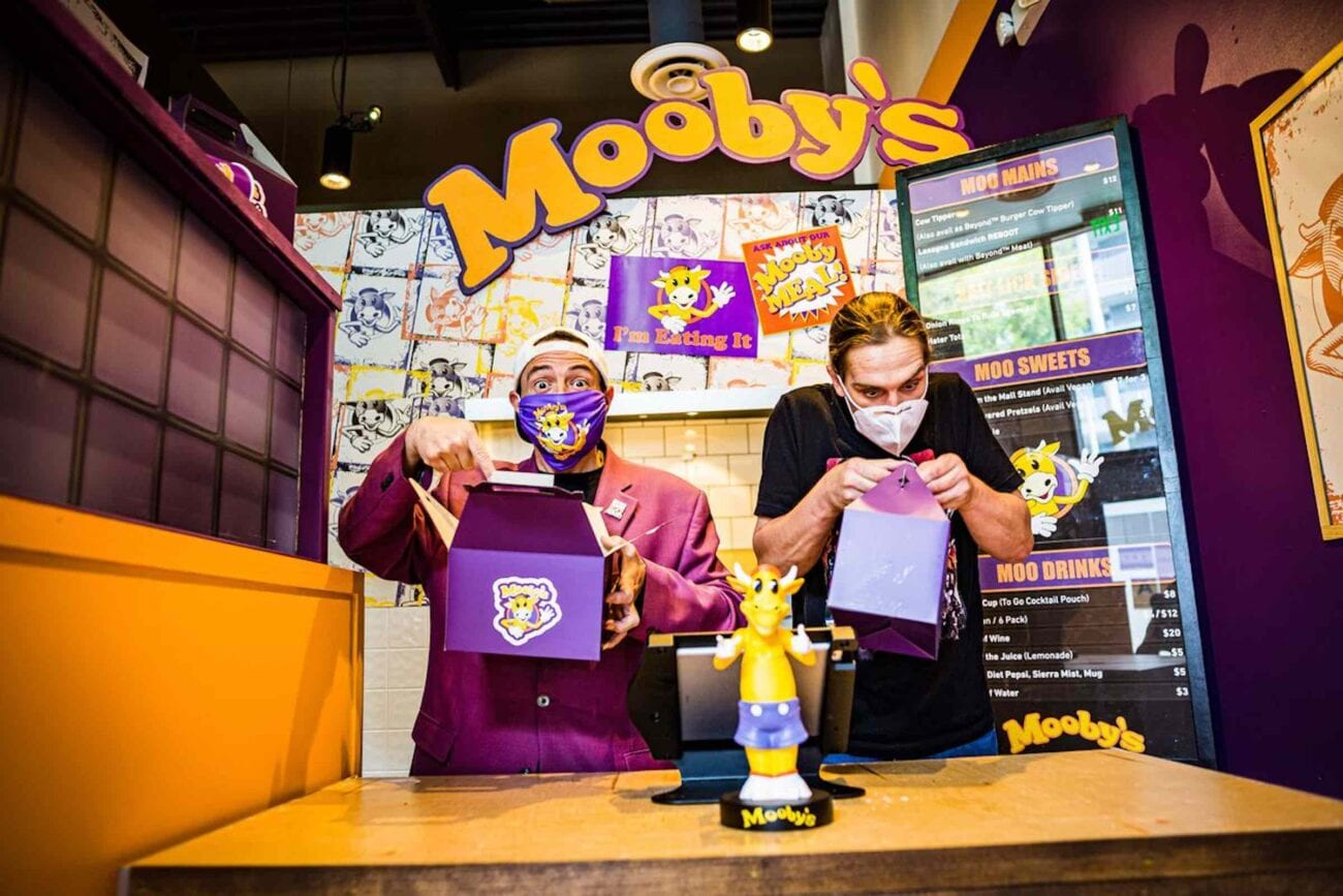We assure you – they're open! Dive into the Askewniverse and find out which city Kevin Smith's popup restaurant Mooby's has moved to this month.