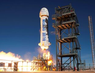 As Jeff Bezos calls today's rocket launch a success, many wonder about the fate of NASA. Could this be the start of the end for NASA?