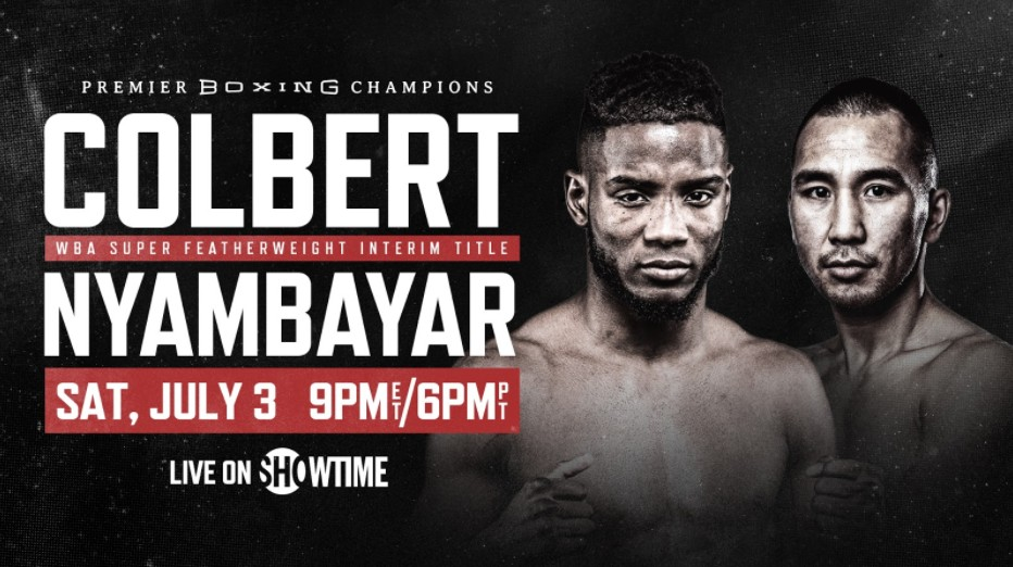 Colbert is gearing up to face Nyambayar in the ring. Find out how to live stream the anticipated boxing event online for free.