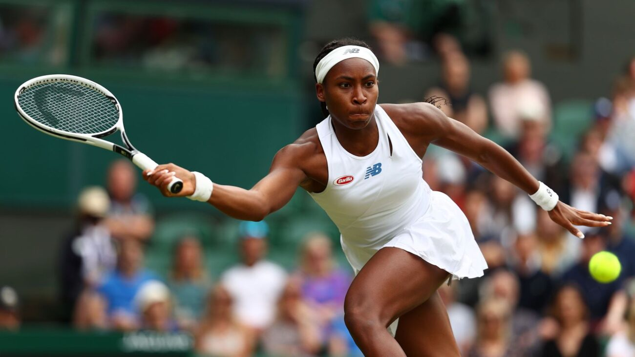 Tennis star Coco Gauff tests positive for COVID and draws out of the 2021 Olympics. See the internet's thoughts on cancelling the games.