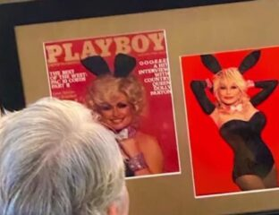 Dolly Parton recreates her 1978 'Playboy' cover for her husband's birthday. See if the star got nude for the occasion.