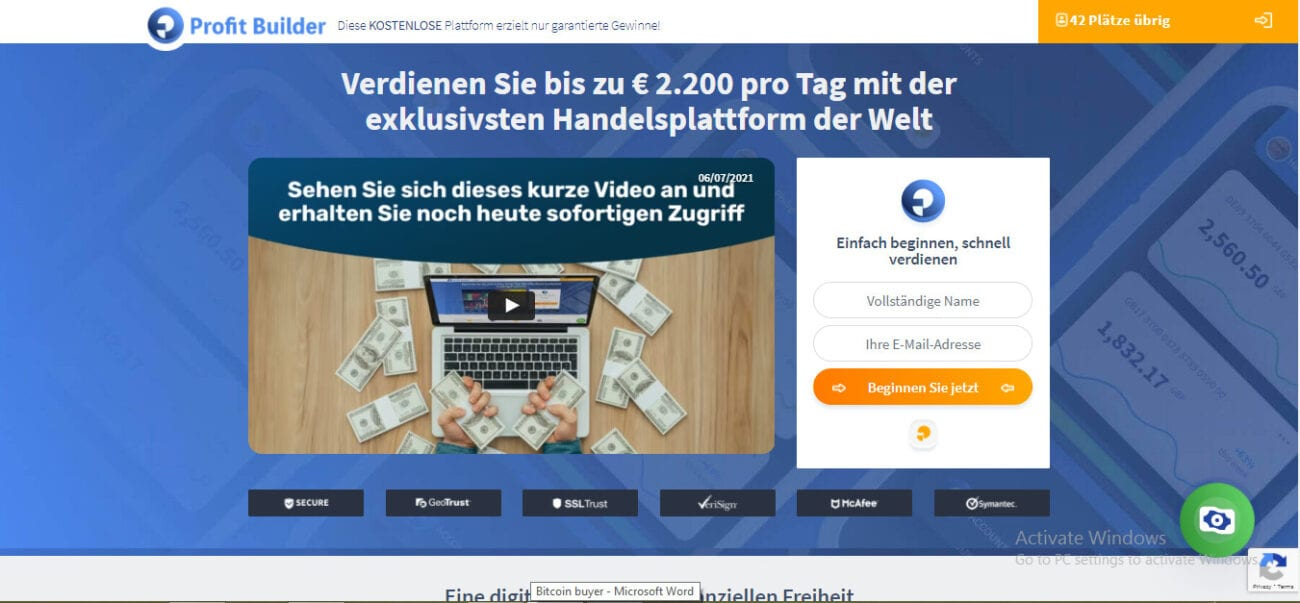 Can you trust Profit Builder Erfahrungen with your stock investments and money? Look at whether the app is worth your time and hard-earned cash here.
