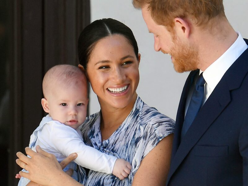 Since Prince Harry and Meghan Markle stepped down from royal duties, are their kids still royalty? Take a look at who's next in line for the throne.