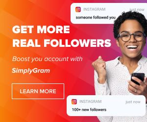 Instagram growth service by SimplyGram