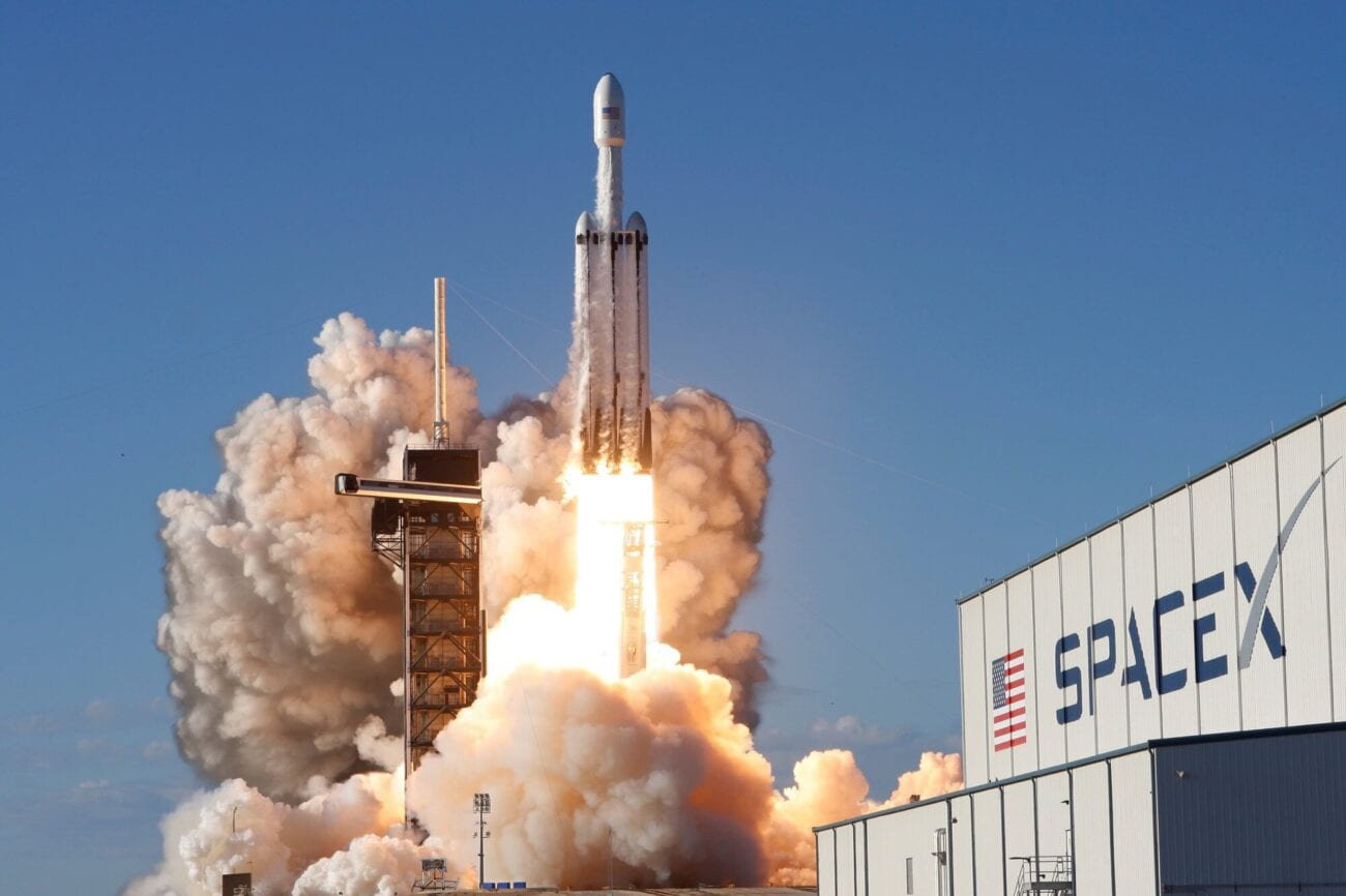 SpaceX and Blue Origin really seem like they're battling it out. Could it be another star wars? Find out more about the Falcon 9 launch now.