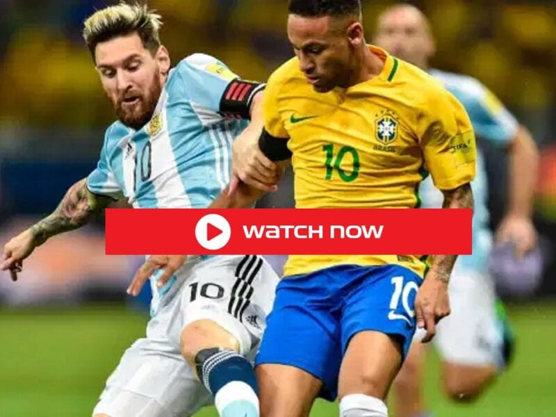 Lionel Messi's beat Neymar's in the Copa America final 2021 Brazil vs Argentina Hot Match Live Free Stream.