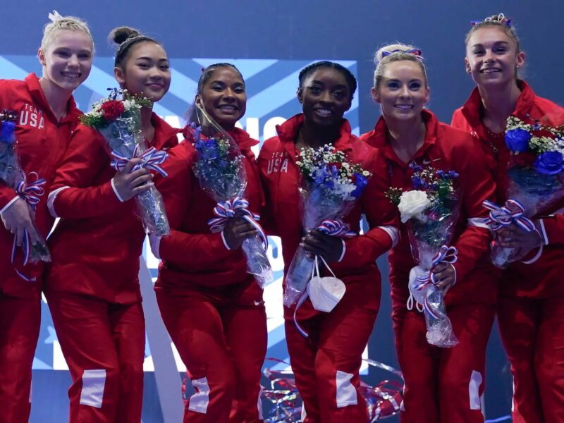 There's a new gold medalist in town – and it's not who you think it is. Find out who just won the gold in the 2021 Olympics gymnastics all-around.