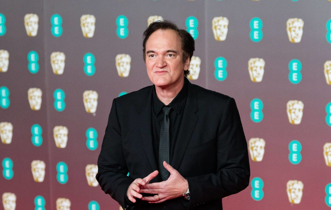 Cult director Quentin Tarantino just bought a piece of Hollywood history? See if you can catch some of his best movies on film at the Vista soon!