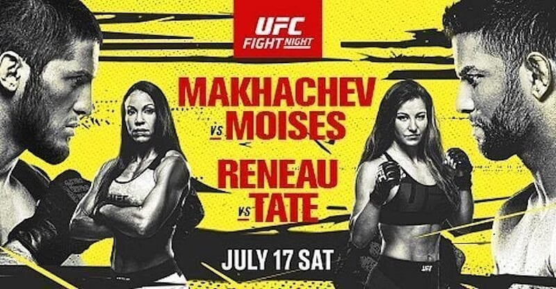 All the excitement comes to a head on July 17, when Islam Makhachev and Thiago Moises face off. Watch the UFC fight night here.