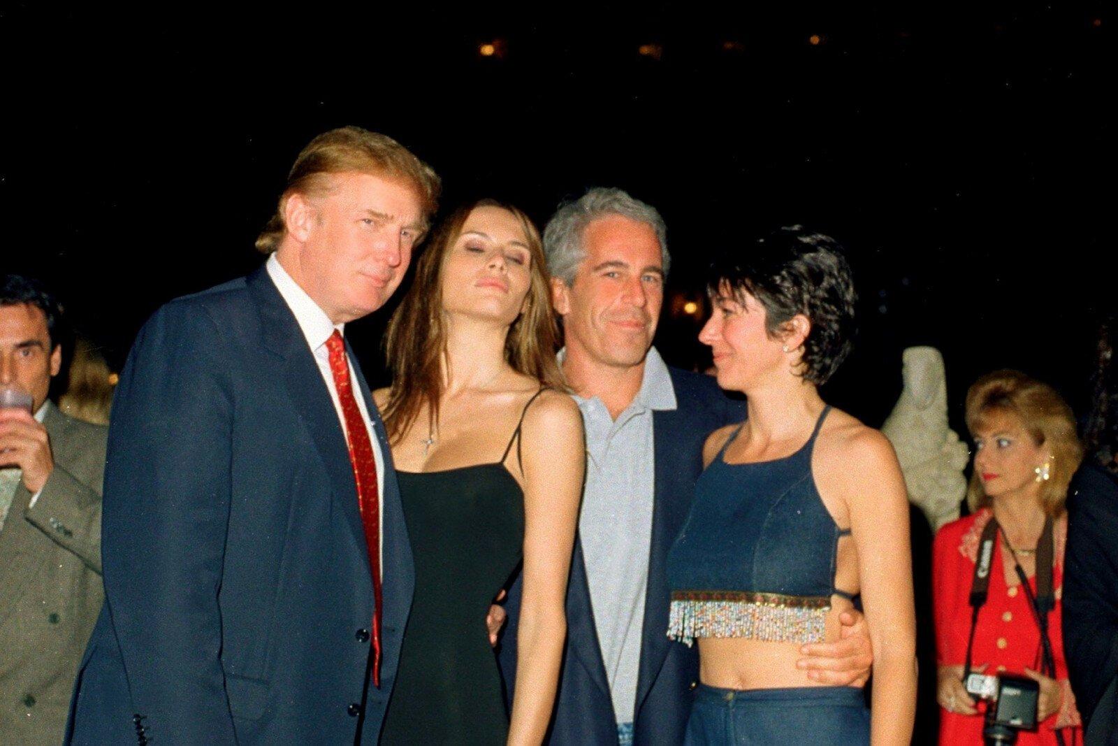 Donald Trump Jeffrey Epstein