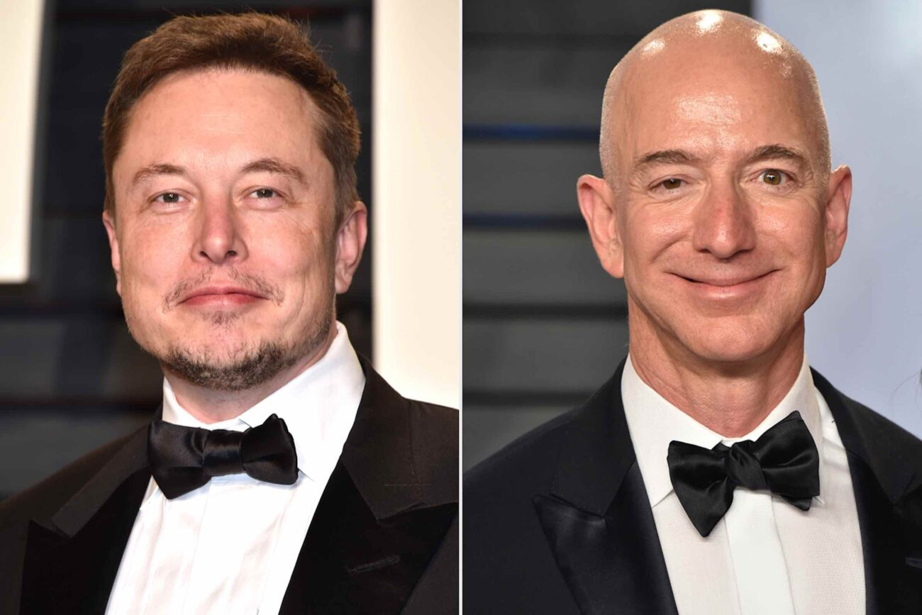 The feud to end all feuds continues between Jeff Bezos and Elon Musk as they race to see who's heading to space first. Strap into the rocket and dive in!