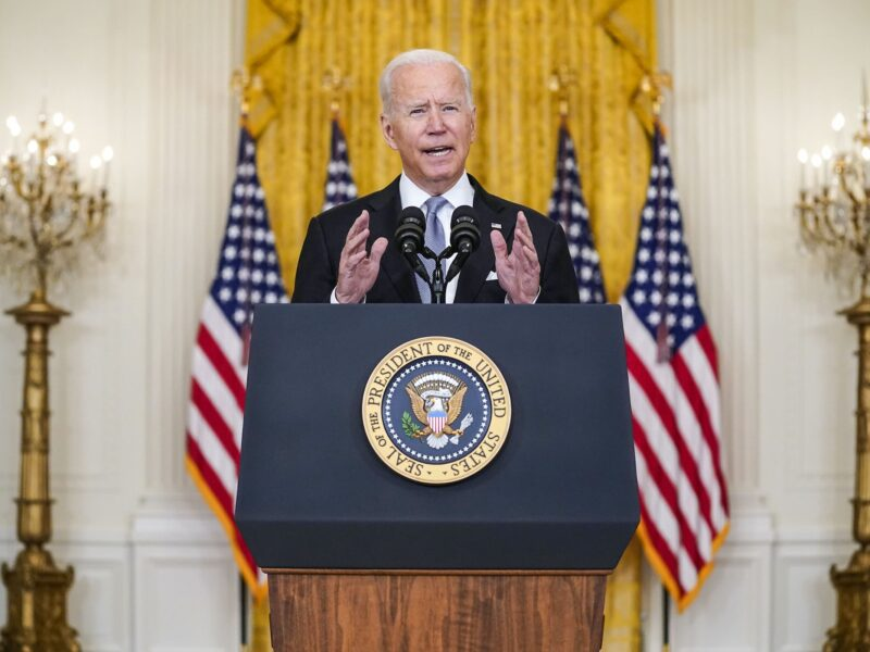 The Taliban has seized Afghanistan and countless civilians are searching for an escape. Joe Biden's stern speech detailing the scenario has upset many.