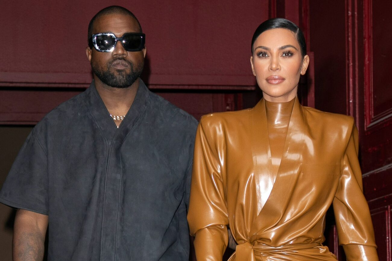 News of Kim Kardashian's divorce from Kanye West has been big news! Now that she's worn a wedding dress to his DONDA evemt, are they back together?
