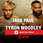 Jake Paul vs Tyron Woodley streaming free boxing live make his fourth professional boxing appearance on Sunday, today.