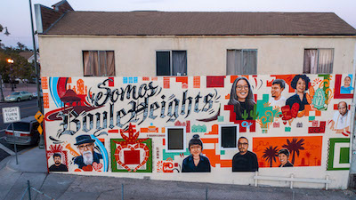 Murals are captivating works of art that bring communities together. Journey with DoorDash as they explore one community's story in 'Somos Boyle Heights'.