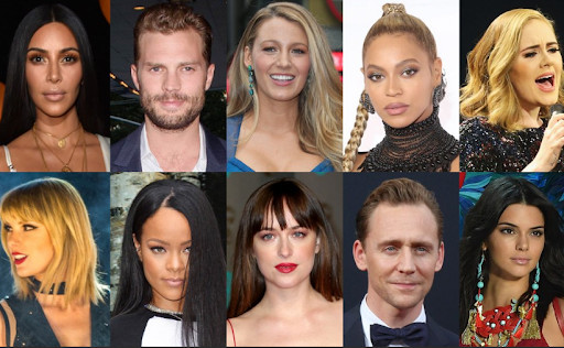You've heard of Tom Cruise, Angelina Jolie, and Keanu Reeves, but have you heard about these famous celebrities? See who's the new talk of the town here.