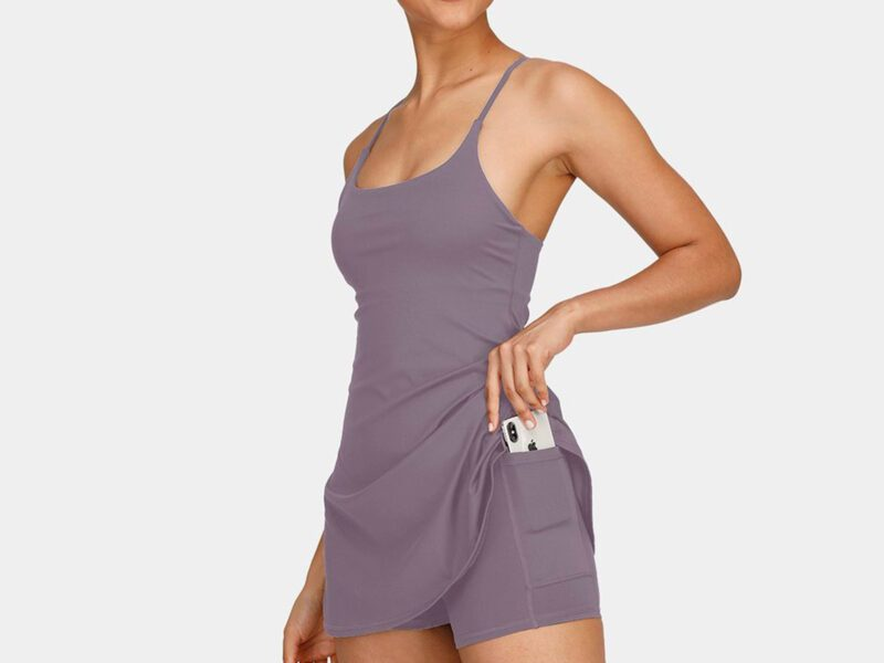 Halara's Exercise Dress is perfect for all kinds of activities. Get into shape, and look great doing it in these fashionable workout clothes.