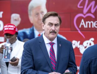 Mike Lindell, the man behind the My Pillow, is a known for making incendiary statements in support of Donald Trump. How much is the pillow man worth?