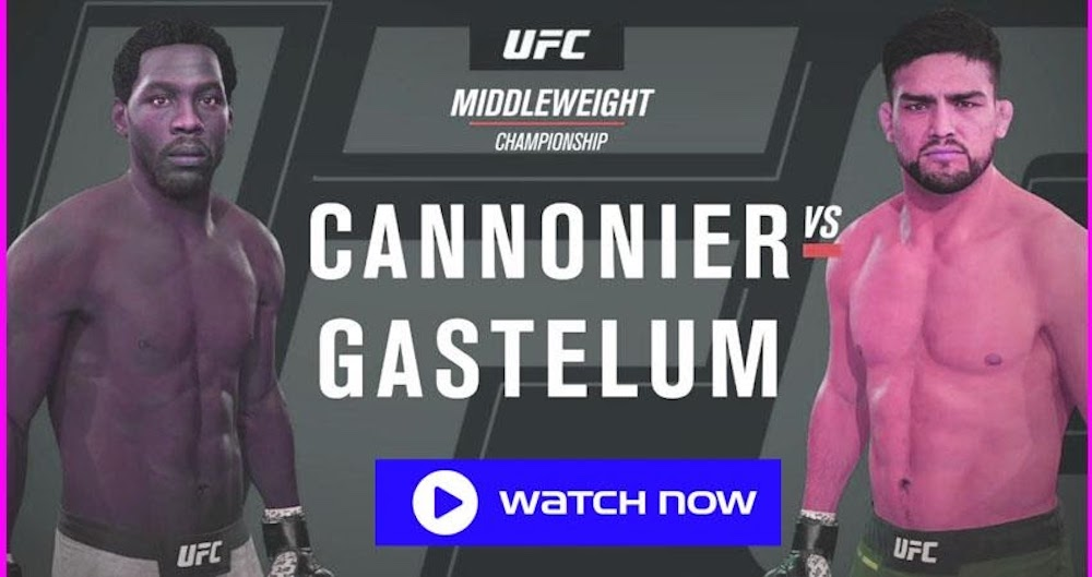 On 21 August the UFC fight night comes with Jared 'The Killa Gorilla' Cannonier and Kelvin Gastelum face off. Here's how you can stream it.