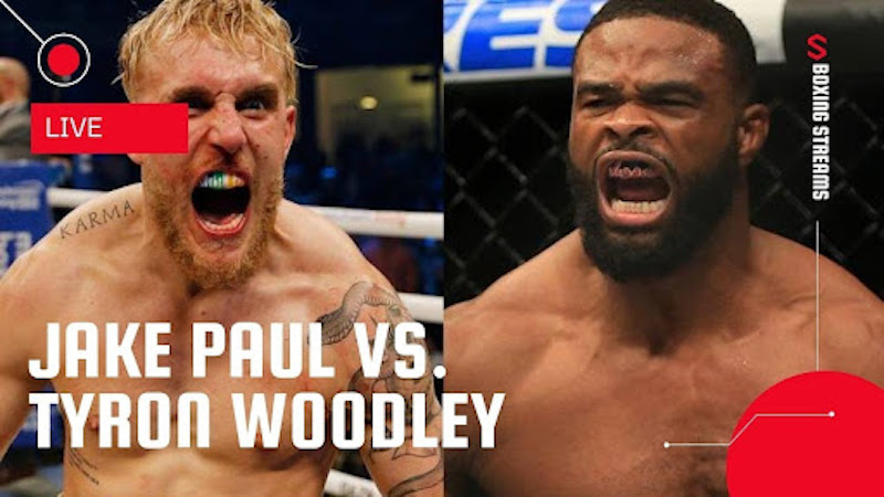 Find out about the Jake 'Paul vs. Woodley' fight TV channel, including ways to watch, fighter stats, Main card live stream for free on Reddit and more!