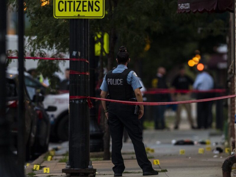 Sixty-six people were shot over the Labor Day weekend in Chicago. Read how the city and the USA as a whole continue to see a rise in gun violence.