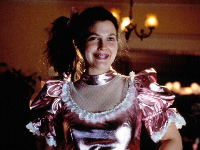 Drew Barrymore dressed as her iconic character from 'Never Been Kissed' to jumpstart her TikTok page. Grab your prom dress and dive into these reactions!
