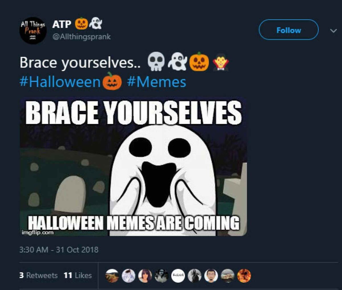 Ghost, ghoul, and vampire memes oh my! Get ready to get booed as we dive into the best ghost memes to help jumpstart your countdown to Halloween!