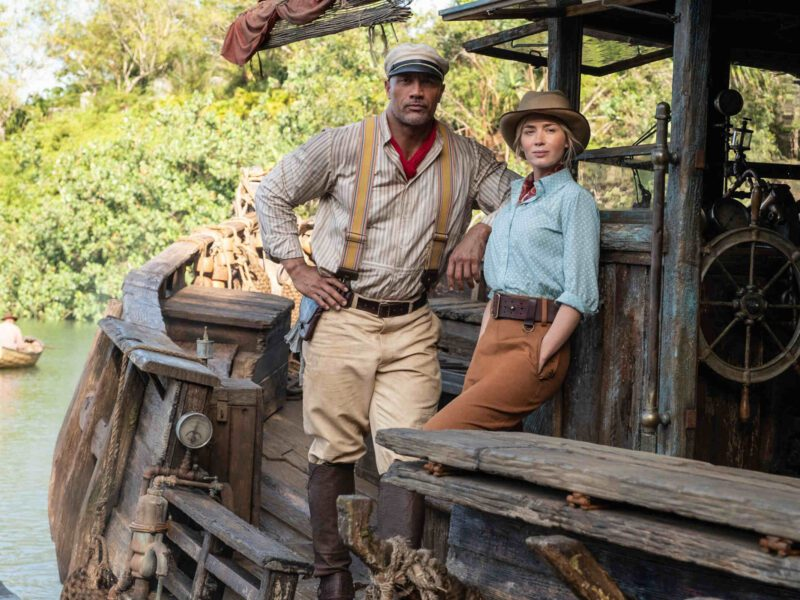 """Is a 'Jungle Cruise' sequel in the works, and if so, will Dwayne """"The Rock"""" Johnson reprise his role? Cruise along a riverboat ride and find the tea!"""