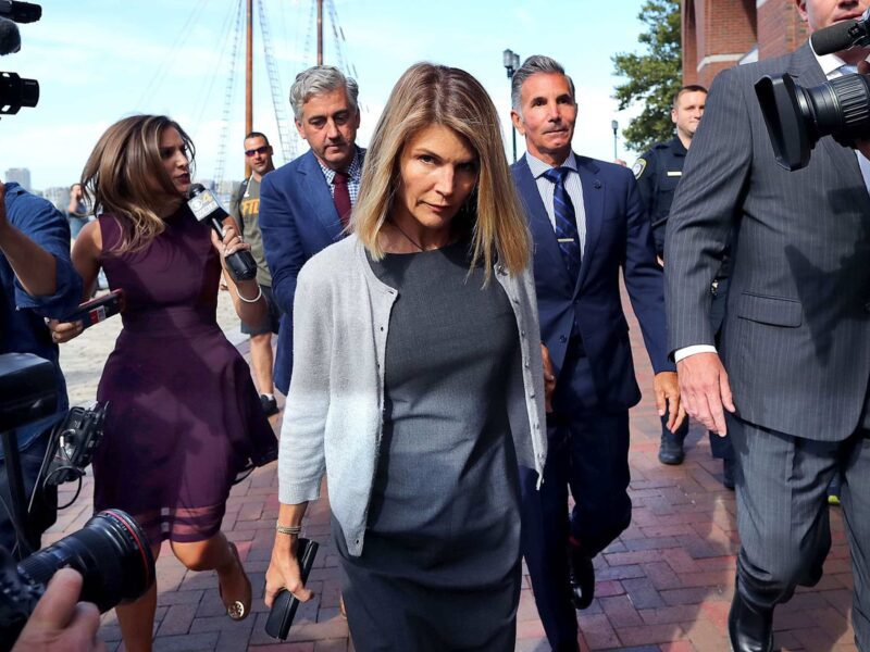 After bribing top colleges and serving prison time, Lori Loughlin returns to the screen. See how the charges against the actress affected her career.