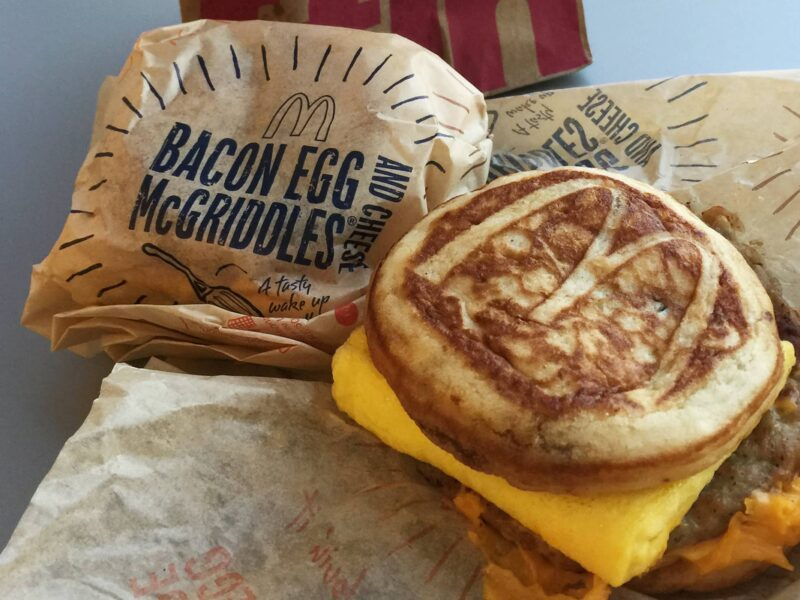Today, thousands of people started their day debating which is better, the egg McMuffin or the sausage McGriddle. See the best tweets on the divisive poll.