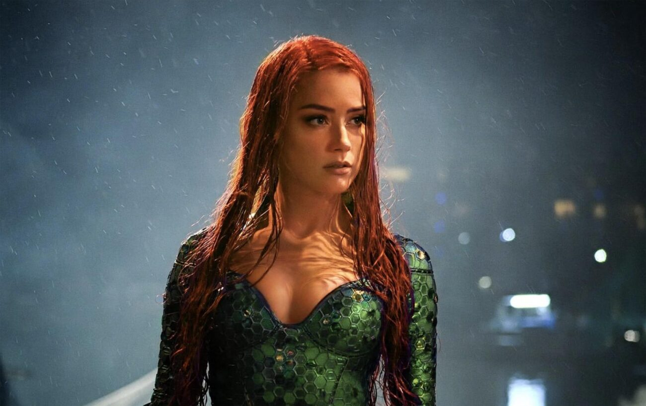 'Aquaman 2' is splashing it's way into theaters next year, but all anyone can talk about is Amber Heard. Will she be removed from the cast?
