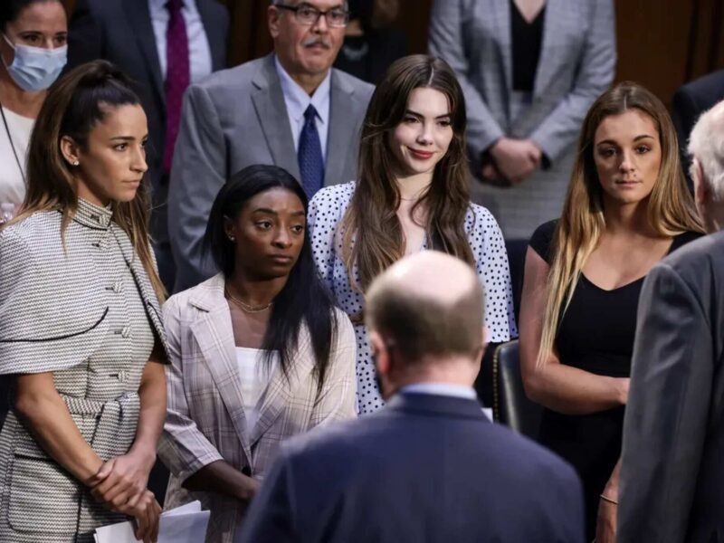 United States gymnast Simone Biles stepped forward before the Senate to speak on Larry Nassar's abuse. Did other victims join her?