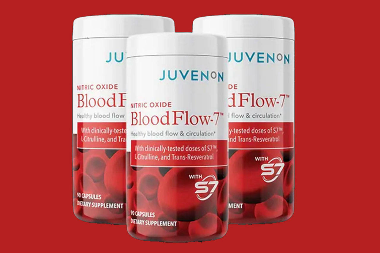 BloodFlow-7 by Juvenon is a dietary supplement to boost blood flow with the aim to improve overall health. Is this a scam or legit?